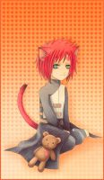 Kitty Shippuden Gaara by Radittz