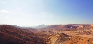 Ramon crater, Israel by MaorDesign