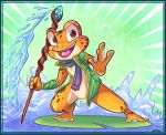 Cochibi:: Frog Fighter by vaporotem