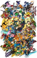 Super Smash Bros! by IAMARG