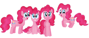 MLP Pinkie Pies by Rad-Girl