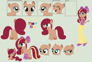 Cocoa Dulcet Hooves  Ref (BIG) by PyscoSnowflake