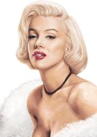 Marylin Monroe by cuteblackkat