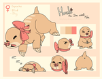 Houki ref sheet by MizAmy