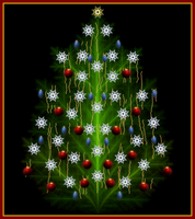 Fractal Christmastree by MurdocSnook