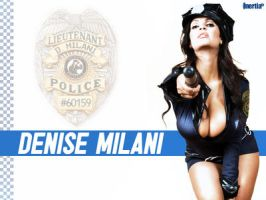 Arrest Me: Denise Milani by inertiafx