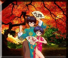 Ranma and Akane (Ranma 1/2) by soulfire524