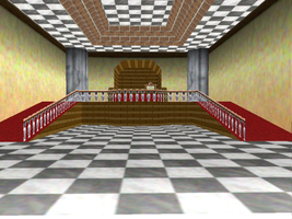 MMD DL :Whomp's Fortress Room by brenokisch