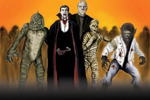 Monster Squad by tlmolly86