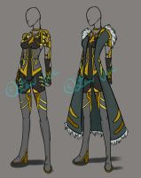 Outfit Double Set Auction [CLOSED] by JxW-SpiralofChaos