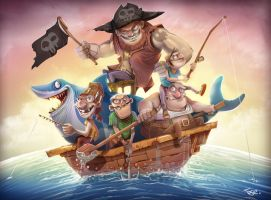 Pirates by Tosello