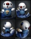 Oshawott - Removable Scalchop by DannArte