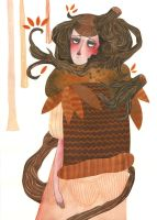 Autumn Depression by Santje-Chan