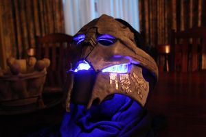 Saren Arterius Mask glowing by 1HLJ6