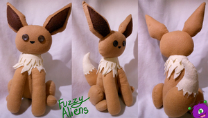 Eevee Plush -For Sale- by FuzzyAliens