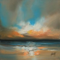 Warm Sky Study by NaismithArt