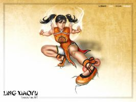 Ling Xiaoyu by Kinght200