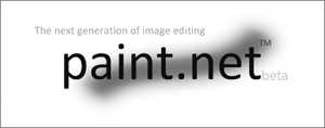 Paint.NET splash screen by usedHONDA