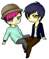 :COM: James and Oliver by EscarlattaNoTales