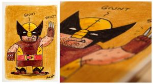 Wolverine - Brown by MattKaufenberg