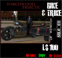 Torchwood Bike And Trike by truemouse