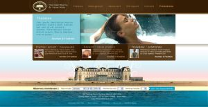 SPA Hotel panorama template by Giboo