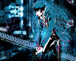 Psycho-Pass: Kougami Shinya - WALLPAPER by Silas-Tsunayoshi