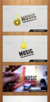 D'Music Logo Template - Graphicriver by Changyik