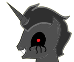 Creepypasta Steel Unicorn by darkbladebrony
