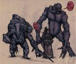 The Stone Ogres by Ashere