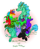 Neopet X-Mas by bytail