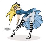 Alice Pin up by LaTaupinette