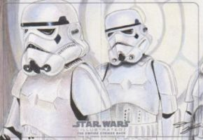 Star Wars Illustrated: TESB - Stormtroopers by DenaeFrazierStudios