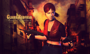 Claire Redfield RE CVX wallpaper by VickyxRedfield