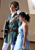 Link and Navi cosplay 2010 by DSenderM