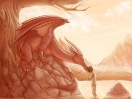 The Red Dragon by LordSiverius
