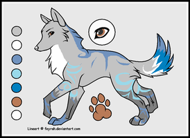 Wolf auctionable by Icey-adopts