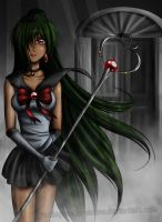 Sailor Pluto by TwinklePowderySnow