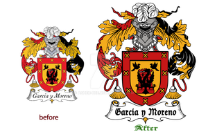:Garcia Family Crest: by Asher-Bee