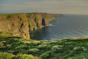 Cliffs of Moher II by LordSaddler