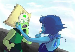 Lapidot from Amazing Puffhair Navel Boy! by AmazingPuffhair