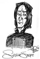 Severus Snape_SS by haystax45