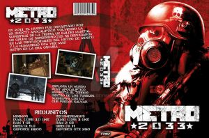 Metro 2033 DVD Cover by vdk84