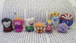 Adventure Time Inspired Charms by NerdyMind