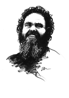 Artists - Patrick Rothfuss by Skinrarb