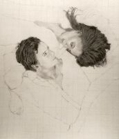 WIP: Desperate Romantics: Romeo and Juliet by shuckaby