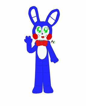 Toy Bonnie by pastelcoloursz