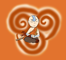 Aang Chibi by Jessica3green