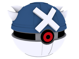 The pokeball of Metagross by quinnjdq