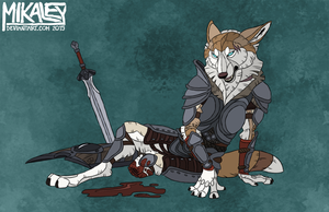 Commission - Forever Lost by Mikaley